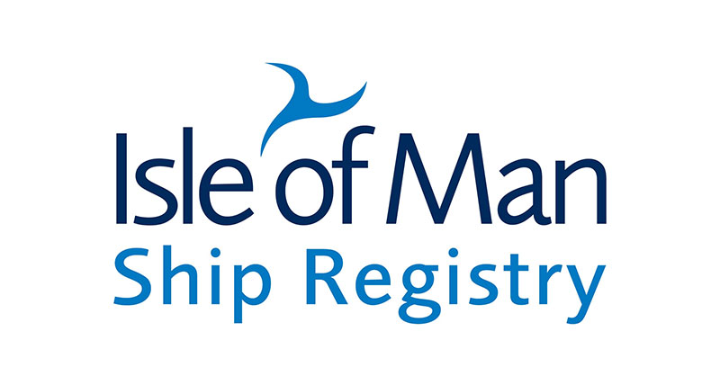 an image of the isle of man ship registry logo