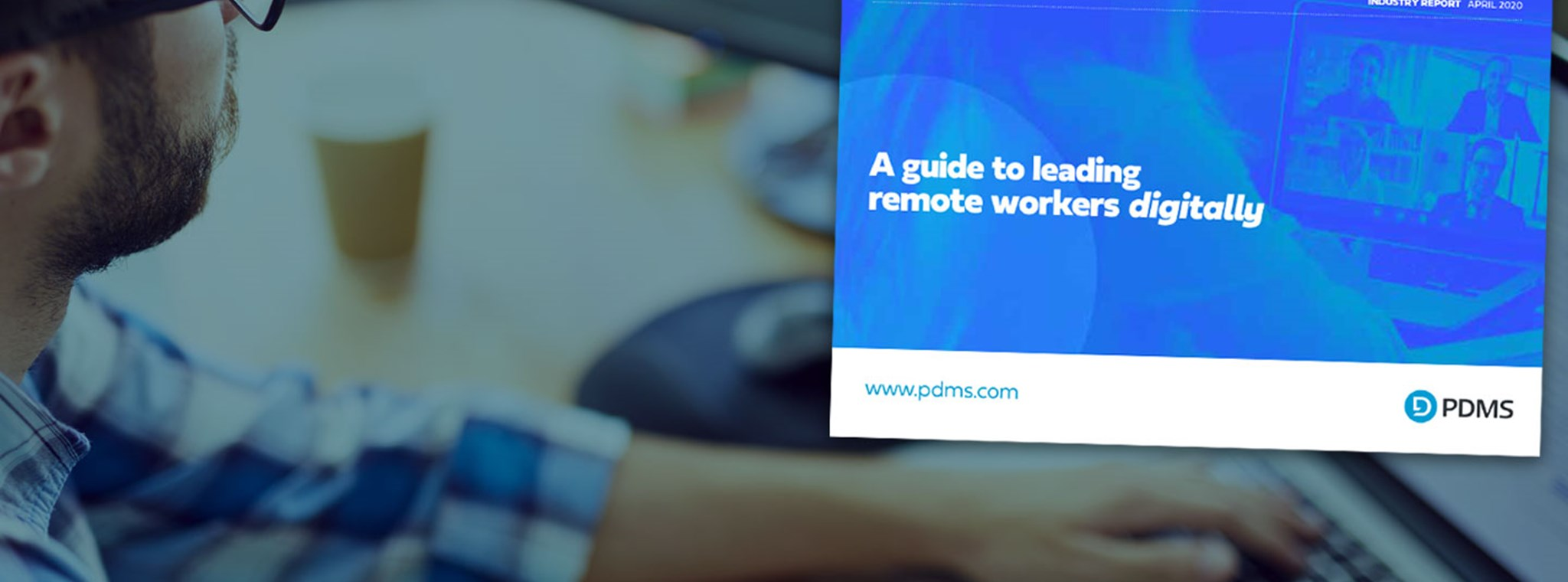 Photo of a remote worker